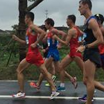 Jingting - 4th stage: Leading group at 6km