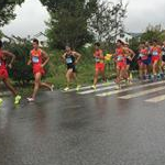 Jingting - 4th stage: The pack at 3km