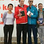 Podium of 50km Men