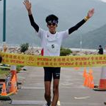 Men 50km: The winner Chin Man-kit (HGK)