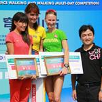 Qionglong - 3nd stage: Award ceremony Women (photo by Jetzaho - CHN)