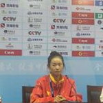 Women 20km - Press conference of first three women