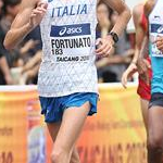 Men 20km: Fortunato in a phase of the race