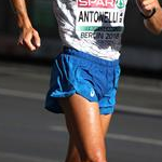 Men 50km: Michele Antonelli during the race