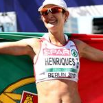 Women 50km: Ines Herinques celebrates victory