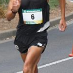 Men 20km: Yerko Cortes during the race