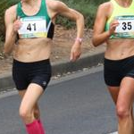 Women 20km: Claire Tallent and Jemima Montag