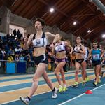 3.000m girls - Camilla Crivellaro (32) leads the pack (Photo by Fidal/Renai for Fidal)