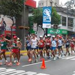 Men 20km - A phase of the race