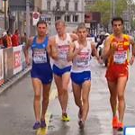 Men - 20 km - I leader verso il 14° km
