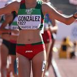 Women U20 10km: Gonzalez celebrates gold