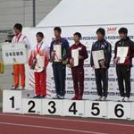 Men 20 km - Award ceremony first 8 athletes