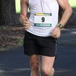 20km men: Adam Garganis (#9) during the race