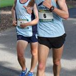20km men: Rhydian Cowley (#6) and Tyler Jones (#14) during the race