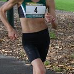 20km women - Claire Tallent (#4) during the race