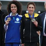 Women - Award ceremony of Ostrava 2011 medals (silver and bronze) after doping