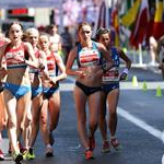 Women - 20 km - Leading pack (by Philipp Pohle - GER)