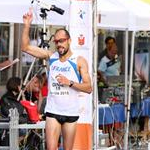 Men - 20 km - The arrival of Yohann Diniz (by Philipp Pohle - GER)