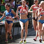 Women - 20 km - Leading group (by Philipp Pohle - GER)