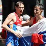 Men - 50 km - Ryzhov and Noskov celebrates the victory (by Philipp Pohle - GER)