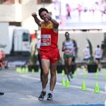 Men - 10 km Junior - Diego Garcia victory (by Philipp Pohle - GER)