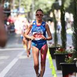 Women - 20 km - Valentina Trapletti during the race (by Philipp Pohle - GER)