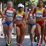 Women - 10 km Junior - Leading pack (by Philipp Pohle - GER)