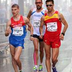 Men - 20 km - The three leaders (by Philipp Pohle - GER)