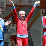 Women - 20 km - The podium (by Philipp Pohle - GER)
