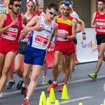 Men - 10 km Junior - Leading pack (by Philipp Pohle - GER)