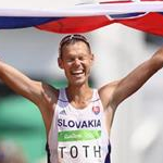 50 km - Matej Toth celebrate the victory (by Getty Images)