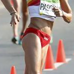 20 km women - Beatriz Pascual (ESP) during the race (by Getty Images)