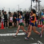 Women 5 km Junior - Again the leading group