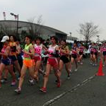 Women 5 km Junior - The start