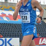 Men: Niccolò Coppini during the race