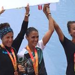4th day - Women celebrate 3rd team place overall