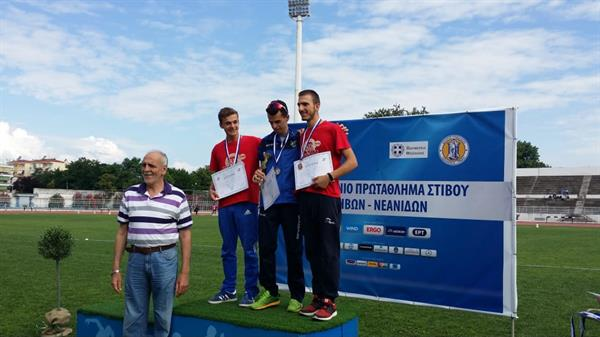 Trikala (GRE): Georgios Tzatzimakis and Olga Fiaska win Greek U20 Championships